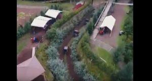 Por falta de seguridad, niño se accidenta en Volcanic Park; está grave