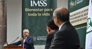 Con plan del IMSS, gobierno busca fortalecer sistema de salud