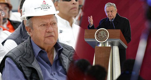 AMLO confirma que Romero Deschamps cuenta con denuncia por huachicol