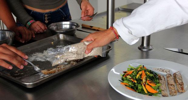 En BUAP, elaboran empanizador saludable a base de amaranto y chía