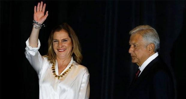 Beatriz Gutiérrez, esposa de AMLO, con 3 propiedades en Puebla por 2.5 mdp