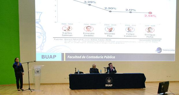Combatir corrupción, reto de gobierno federal: especialista de BUAP