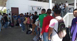 Caravana de migrantes llega a Chiapas