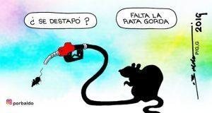 Caricatura: ¿Huachicol destapará corrupción?
