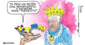 Caricatura: No todos los deseos se cumplen en Reyes Magos