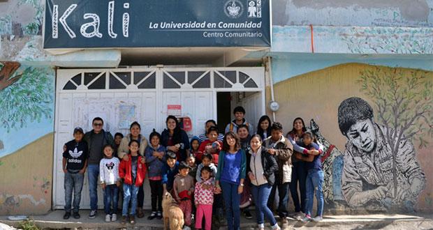 Centros Kali de la BUAP fortalecen tejido social en Puebla capital