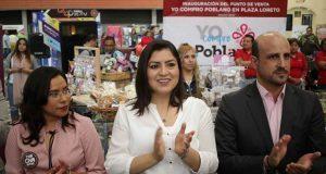 En plaza Loreto, abren punto de venta para Yo Compro Poblano