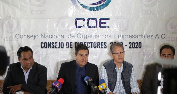 COE exhorta a Congreso a elegir perfil ciudadano para interinato