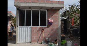 Construcción de cuartos en Ixcaquixtla