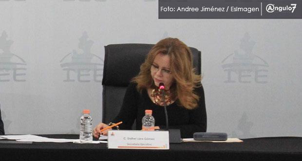 Dalhel Lara deja Secretaría Ejecutiva de IEE en medio de coyuntura electoral