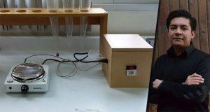 Alumno de la BUAP diseña prototipo para creación de celdas solares