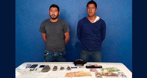 Detienen a 2 sujetos por portar drogas y cohecho en San Andrés