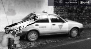 Disparan contra taxista por oponerse a asalto en Tehuacán