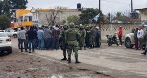 En Hidalgo, retienen a 3 militares tras muerte de civil en tiroteo