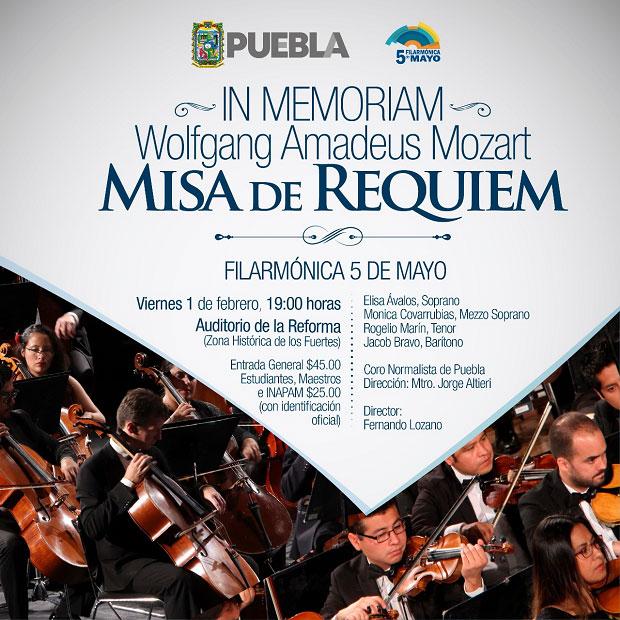 Filarmónica 5 de Mayo inicia temporada primavera el 15 de febrero