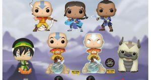 """Funko lanza colección completa de """"Avatar, la leyenda de Aang"""""""