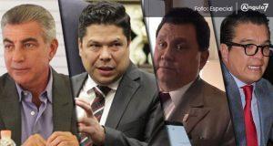 Constitución impide a Gali, Biestro, Alonso e Islas ser gobernador interino