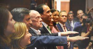 Esquivel y Heath rinden protesta como subgobernadores del Banxico