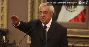 Pacheco promete unidad e imparcialidad al asumir gobierno interino de Puebla