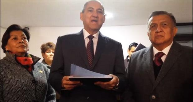 Diputado federal Héctor Jiménez se postula para gobernador interino