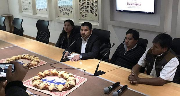 Harán rosca de reyes de 40 metros en San Jerónimo Tecuanipan