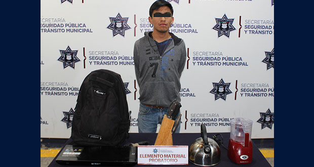 Detienen a presunto violador y ladrón en Bosques de Manzanilla