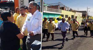 Octavio Torres promoverá áreas verdes en San Felipe Hueyotlipan