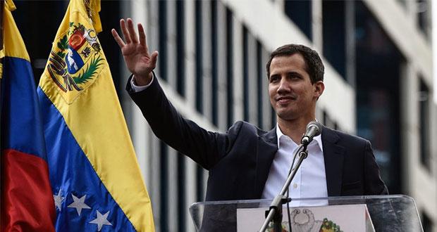 Guaidó pide apoyo de México