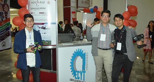 Para ayudar en desastres naturales el IPN desarrolla un dron