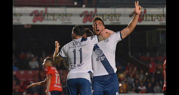 Club Puebla obtiene su primera victoria del año; vence a Veracruz
