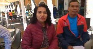 Candidata en Totimehuacán da despensas a cambio de votos, acusan