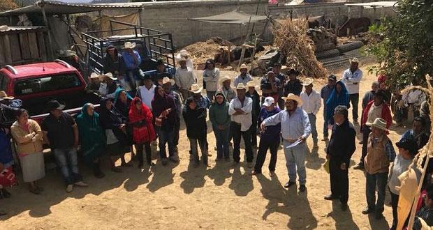 Movimiento Antorchista cierra filas en Tochimilco