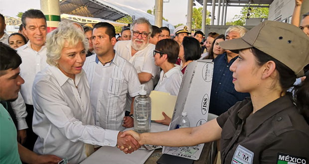 En Chiapas, 8 mil 727 migrantes de 8 países piden entrar a país