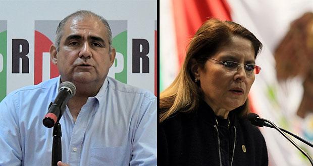 Gilberto Gutiérrez, nuevo delegado de PRI en Puebla; Scherman, a CEN