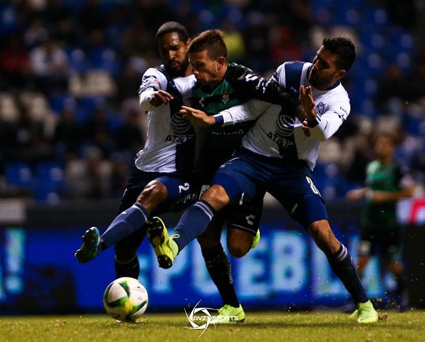 Galería del empate 1-1 del Club Puebla ante Santos