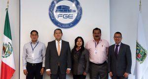 Ediles de Tecali y Felipe Ángeles fortalecen coordinación con FGE
