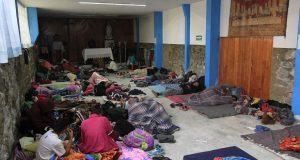 Sin incidentes, finaliza paso de caravana migrante por Puebla: SGG