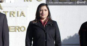 En febrero, Claudia Rivera ofrecería su primer informe de gobierno