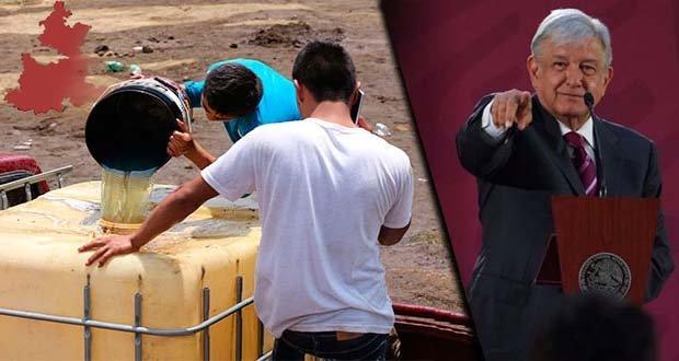 7 municipios de Puebla, incluidos en plan de AMLO para acabar con huachicol