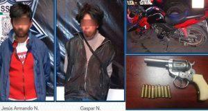 SSP detiene y evita que robo se consume en Los Pinos Mayorazgo