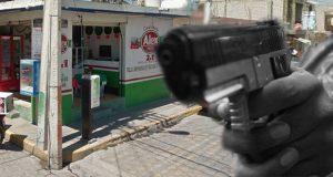 Comando balea pizzería en Tehuacán; hay un muerto y dos heridos