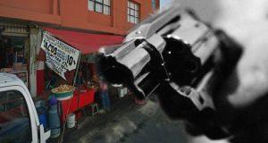 Disparan y lastiman a dueño de taquería en mercado La Acocota