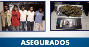 SSP desarticula banda de cinco narcomenudistas en Ocoyucan