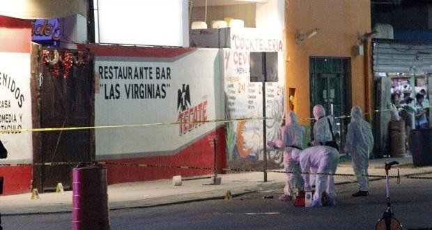 Sujetos armados balean bar en Playa del Carmen; mueren 7 personas. Foto: Animal político