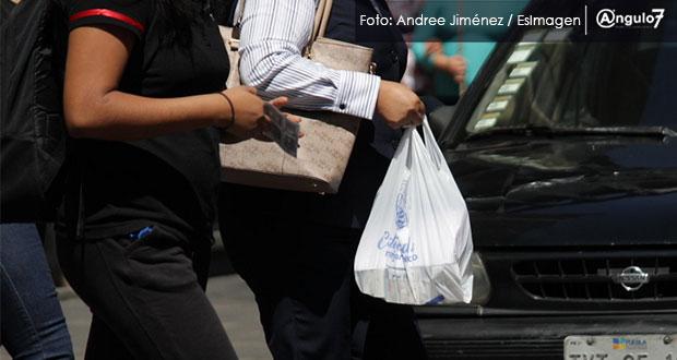 Afirma Rivera que no hay marcha atrás en prohibir uso de bolsa de plástico