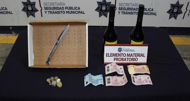 Ssptm detiene a presunto asaltante de Oxxo en Analco
