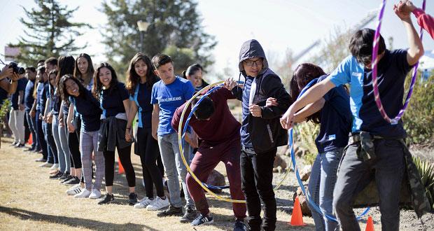 Con actividades y música, Lobofest de BUAP recibe a nuevos alumnos