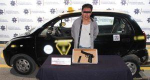 Ssptm detiene a supuesto ladrón de autos en colonia Valle del Sur