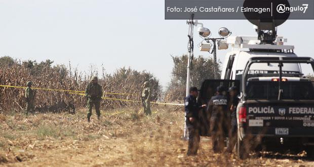 Investigación por caída de helicóptero, a cargo de Federación: Almeida