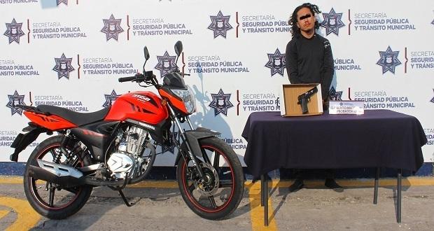 Ssptm aprehende a presunto ladrón de vehículos en Totimehuacán